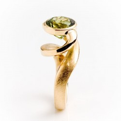 Ring, Tornado, 750- Gold, Turmalin