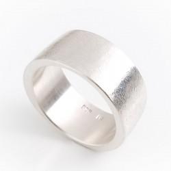 Ring, bone, 925 silver