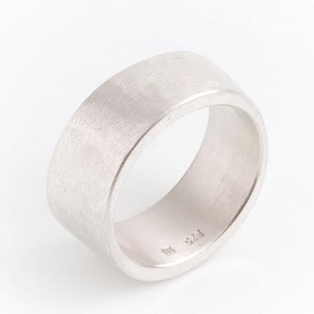 Ring, Knochen, 925- Silber