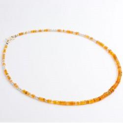 Kette, Opal, Perlen, 585- Gold