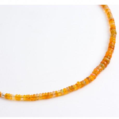 Kette, Zitronenchrysopras