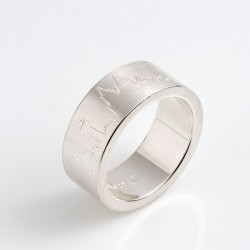 Cologne skyline ring, 925- silver