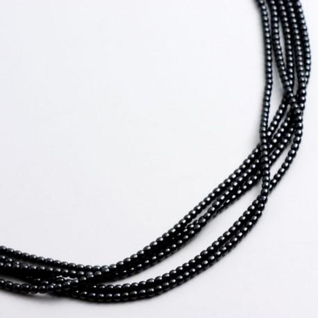Kette, Hämatin, 925- Silber