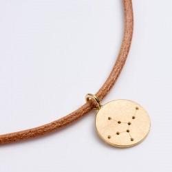 Sternzeichen Anhänger Jungfrau, 750- Gold