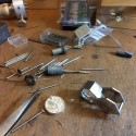 A look into the goldsmith's shop: pendant in progress