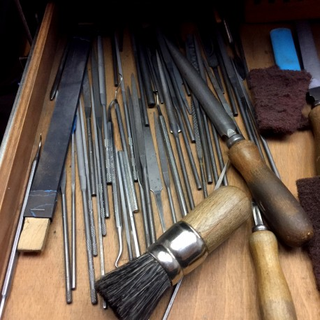 A look into the goldsmith's shop: file collection