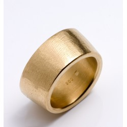 Ring, Knochen, 900- Gold