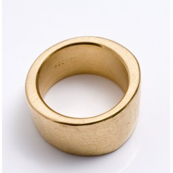 Ring, bone, 900 gold