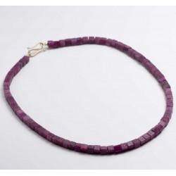 Necklace, 925- silver, aquamarine