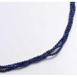 Necklace, lapis lazuli, 925 silver