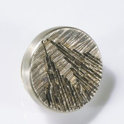 Badge Cologne Cathedral, round, 925- silver white