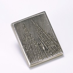 Anstecker Kölner Dom, eckig, 925- Silber
