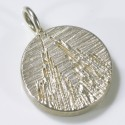 Cologne Cathedral pendant, 925 silver, round