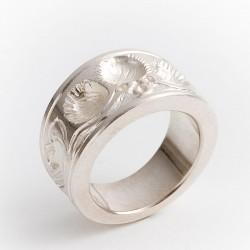 Ring, 925- Silber, Lebensbaum