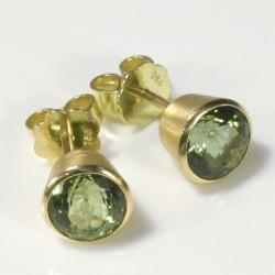 Ohrstecker, 750- Gold, Tansanite