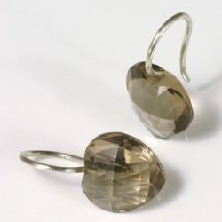 Ohrstecker, 925- Silber, Peridot