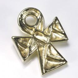Anhänger, koptisches Kreuz, 750- Gold