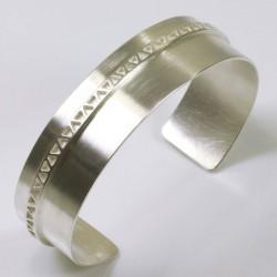 Armreif, 925- Silber, Ornament