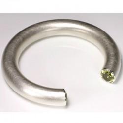 Armreif, 925- Silber, Lemoncitrine