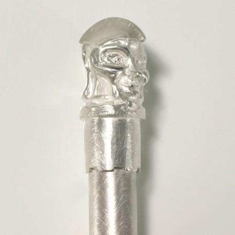 "Ballpoint pen ""Knight"", 925 silver"