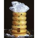 Baumkuchen mit Edelsteinen