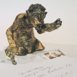 Briefbeschwerer, Bronze