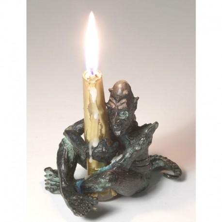 Kerzenmonster, Bronze, laufend