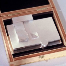 Architekturmodell, 925 Silber