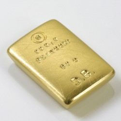 Personalized gold bar, 999 gold