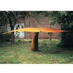 Whale fin, steel