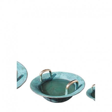 Wasserspringschale von Christof Grosse, Bronze