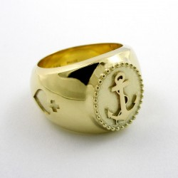 Ring, Sailor Boy, 585- Gold