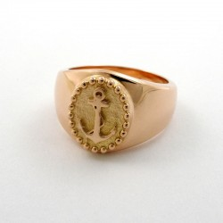 Ring, Sailor Girl, 585 red gold