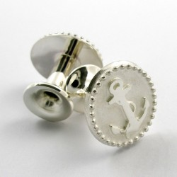 Cufflinks, Sailor, 925- silver