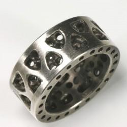 Ring, 925- Silber, Gothisch