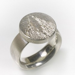 Kölner Dom Ring, 925- Silber