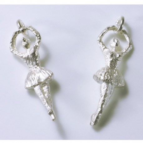 Charm pendant ballerina, 925- silver