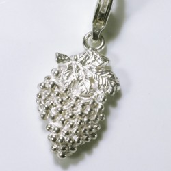 Charm pendant grape, 925- silver