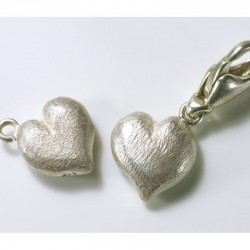 Charm Anhänger Herz, 925- Silber