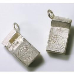 Charm pendant Luckys, 925- silver
