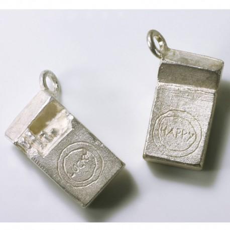 Charm Anhänger Luckys, 925- Silber