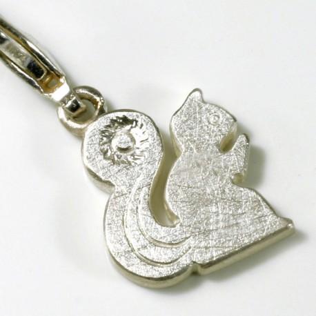 Charm Anhänger Eichhörnchen, 925- Silber