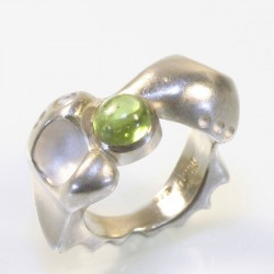 Morphring, 925- Silber, Peridot