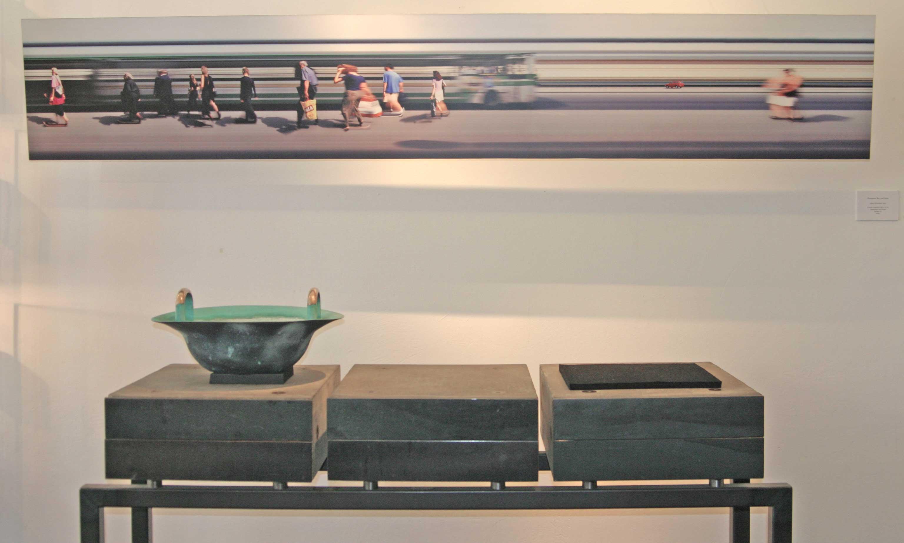 Schmuckgalerie und Kunst
