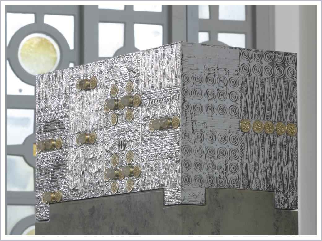 Der renovierte Tabernakel von St. Bruno